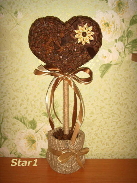 Кофейное дерево. Авторская работа., фото №3