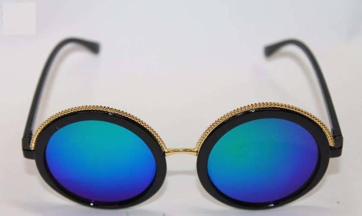 Модные женские круглые очки Aolise Polarized + подарочек