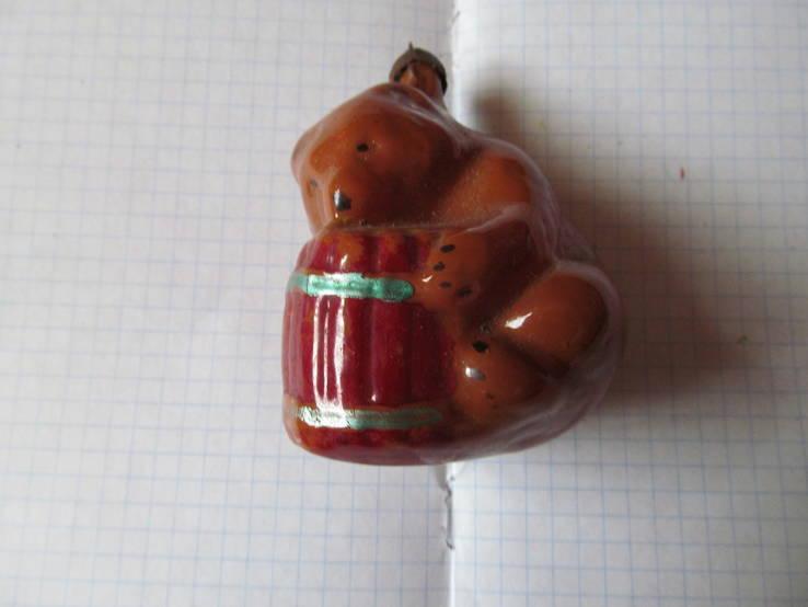 Ёлочная новогодняя игрушка времен СССР
