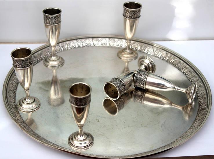Серебряный набор (2 Киевская артель)