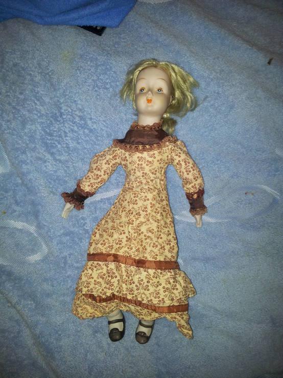 Кукла фарфор 48см, фото №4