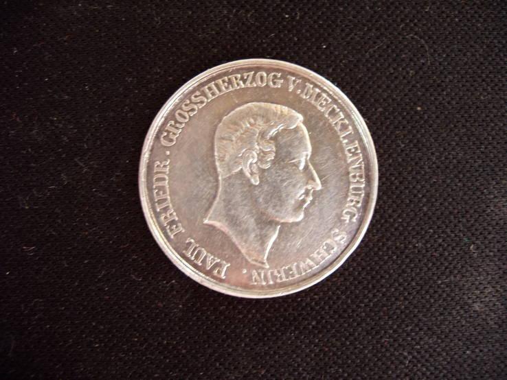 8 шиллингов, 1842 г.в. юбилейные, Германия, Мекленбург-Шверин.