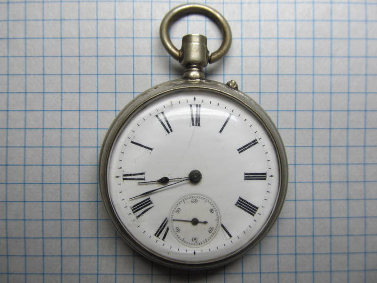 Часы карманные Favre Freres, клейма