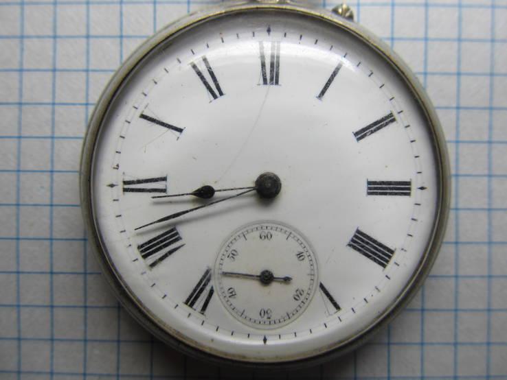 Часы карманные Favre Freres, клейма, фото №3
