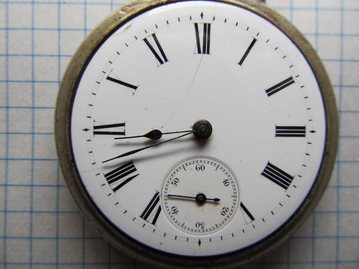 Часы карманные Favre Freres, клейма, фото №4
