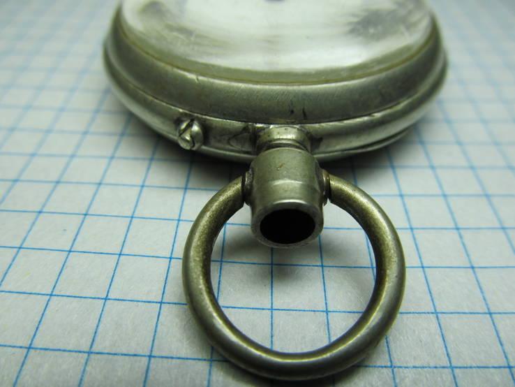 Часы карманные Favre Freres, клейма, фото №5