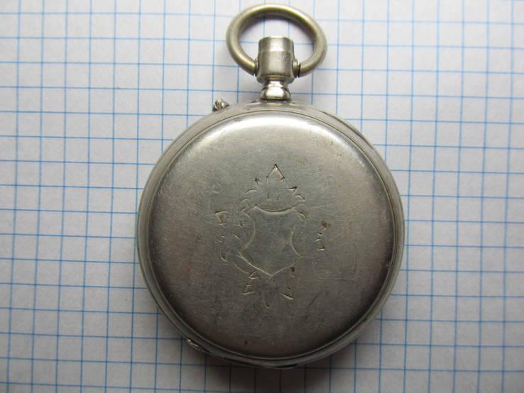 Часы карманные Favre Freres, клейма, фото №7