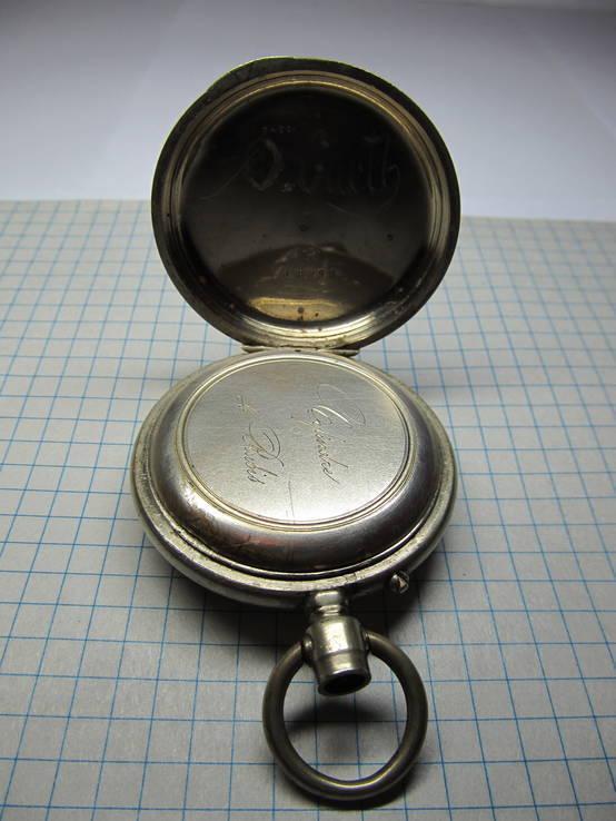 Часы карманные Favre Freres, клейма, фото №8