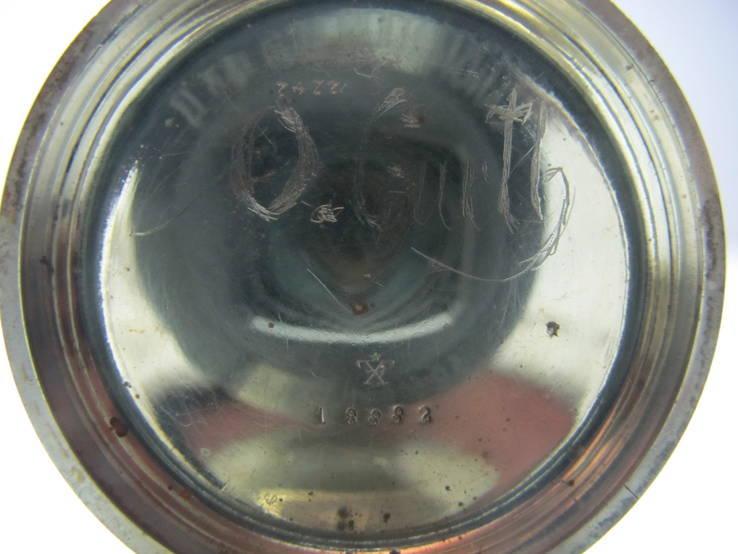Часы карманные Favre Freres, клейма, фото №9
