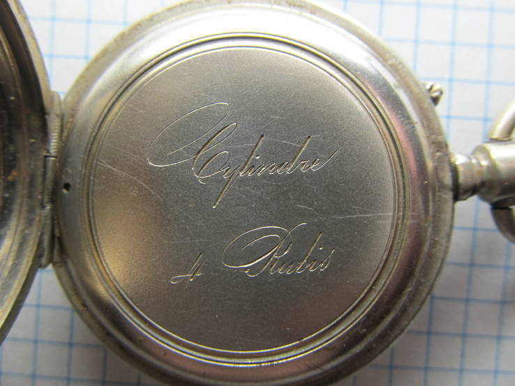 Часы карманные Favre Freres, клейма, фото №10