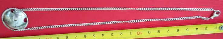 Цепочка с десантным кулоном, фото №3