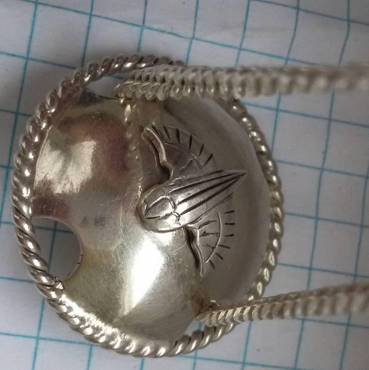 Цепочка с десантным кулоном, фото №14