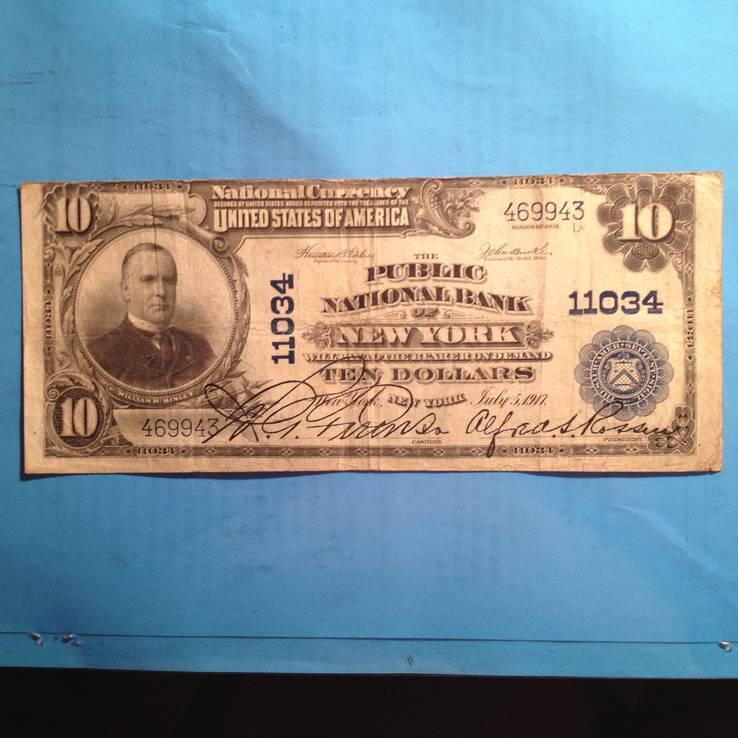 10 долларов сша 1902 г