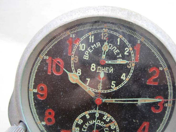 Часы авиационный хронограф 1 Гчз 8 дней 1939 год, фото №4