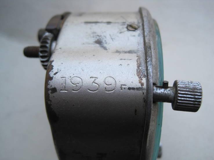 Часы авиационный хронограф 1 Гчз 8 дней 1939 год, фото №5