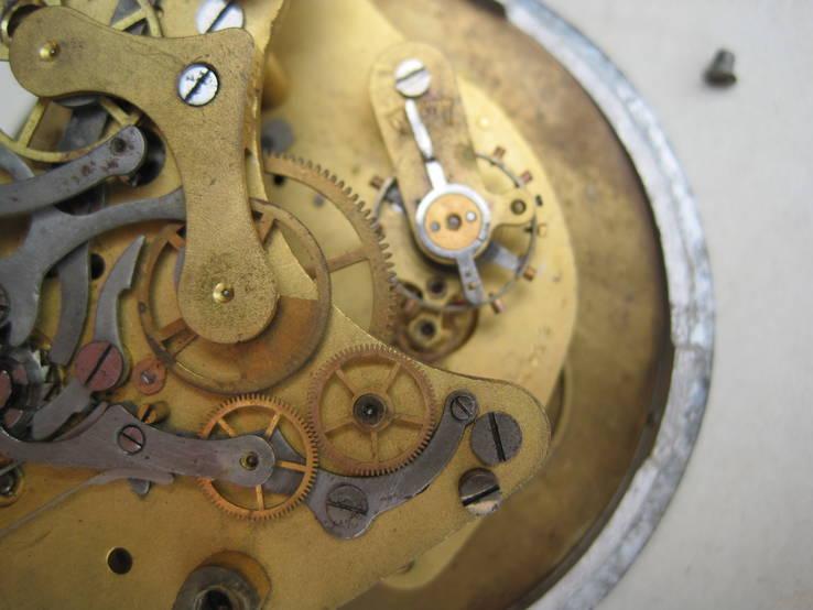 Часы авиационный хронограф 1 Гчз 8 дней 1939 год, фото №12