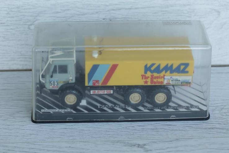 KAMAZ-43410 Rally Камаз-4310-Ралли (С трубами) АРЕК