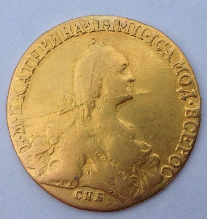 10 рублей 1771