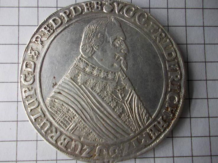 Талер герцогства Брауншвейг 1645 год