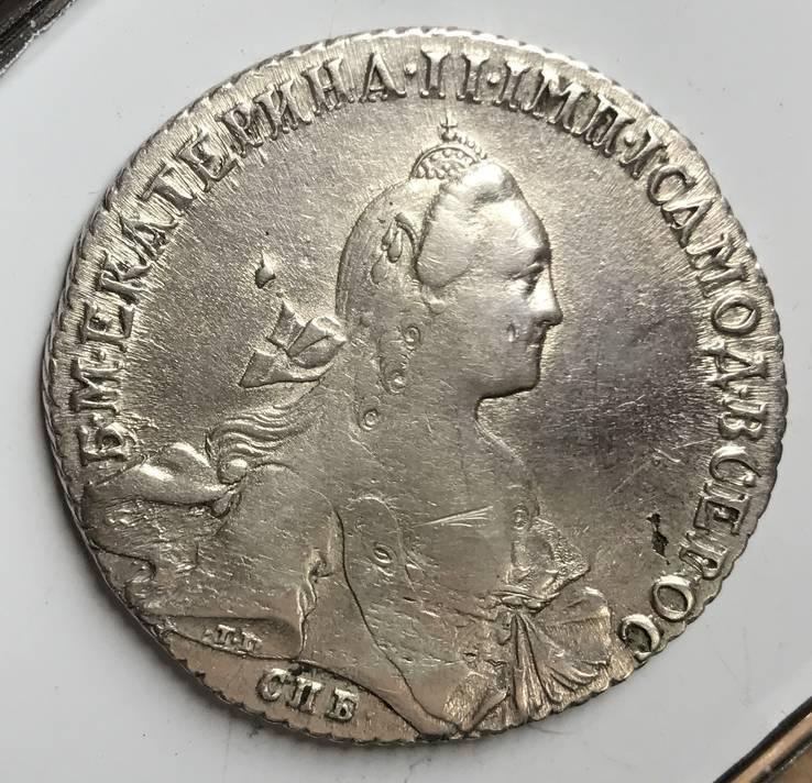 Рубль 1766 года (А Ш )R-1