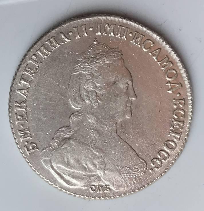 Рубль 1777 года (О Л)