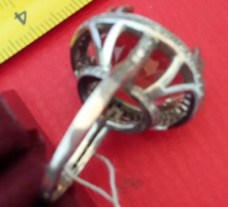 Кольцо с раухтопазом, фото №10