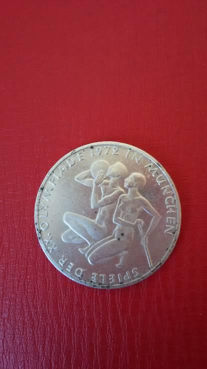 "Монета ""Игры 20 олимпиады.""., фото №6"