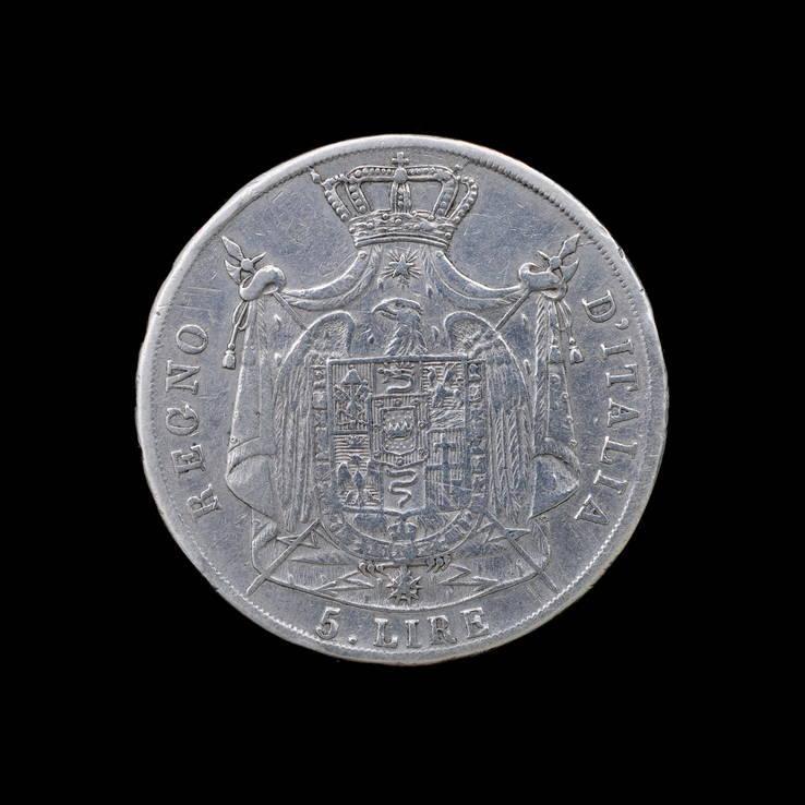 5 Лир 1811 М Наполон Бонапарт, Королевство Италия