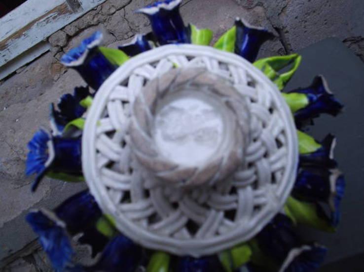 Букет цветов в корзине, фото №5