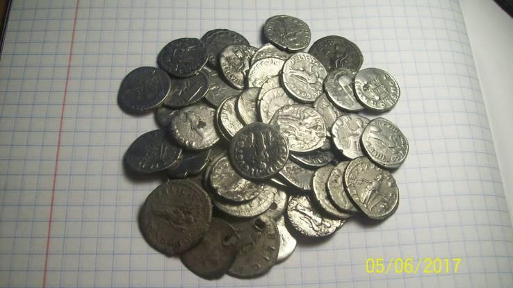 Монеты Рима 66шт.