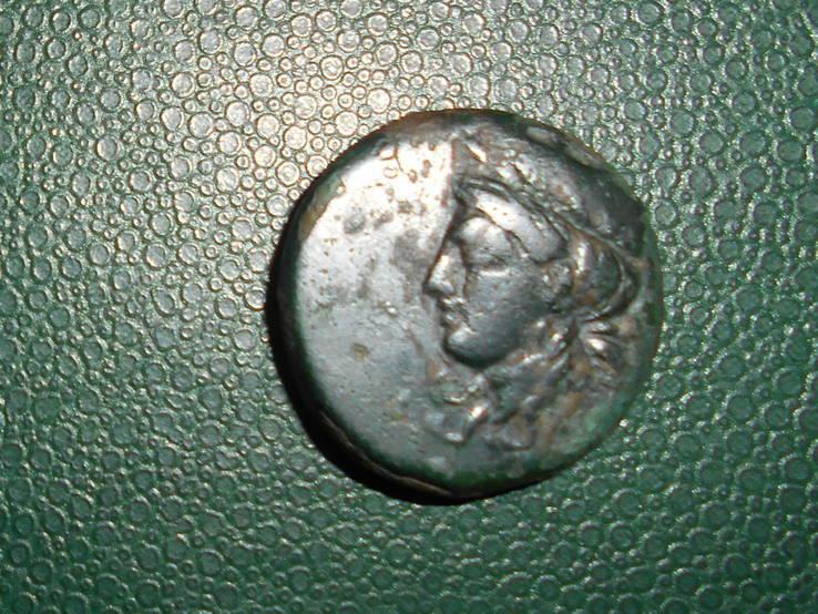 Ольвия, дихалк, Деметра - лучник, 325 - 300 гг до н. э.