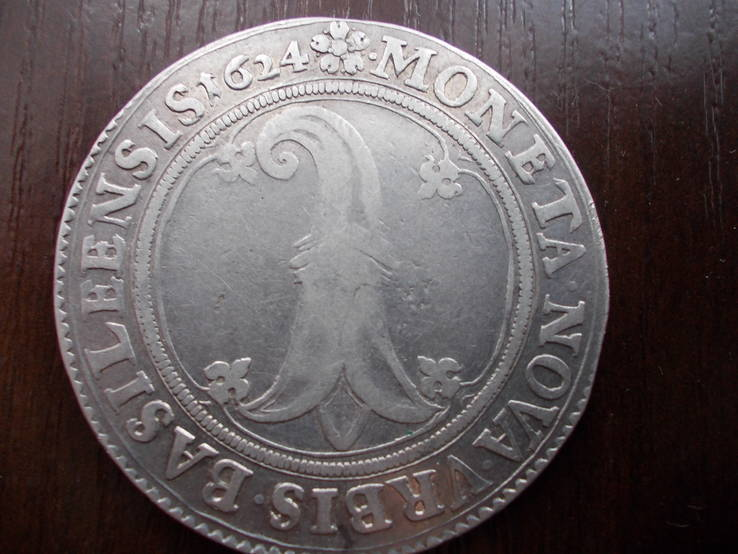 Талер Базель 1624 год