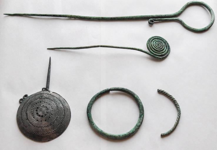 Милоградская культура 7-5 век до н.э.