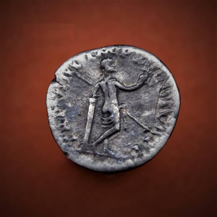 Денарий Тита - Венера Каллипига