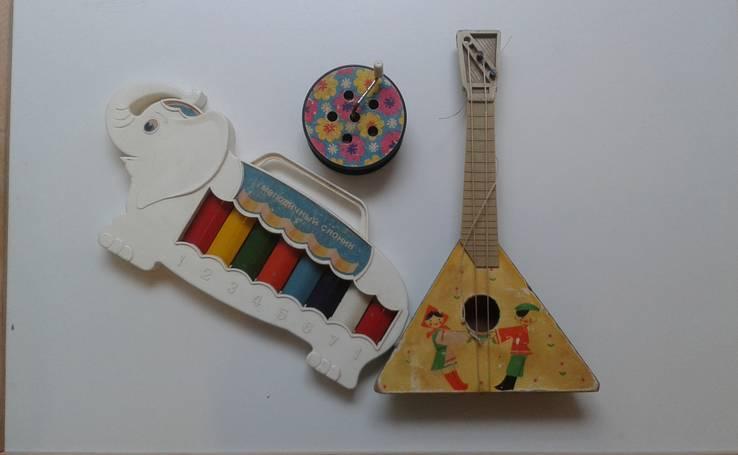 Музыкальные игрушки СССР