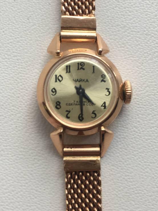 Золотые часы ЧАЙКА с 1 гривны