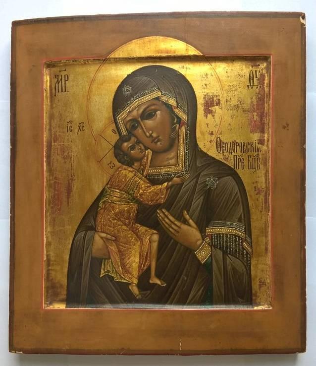 Икона Фео́доровской Бо́жией Ма́тери