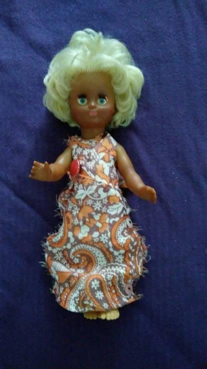 Старинная кукла с клеймом ГДР, фото №2