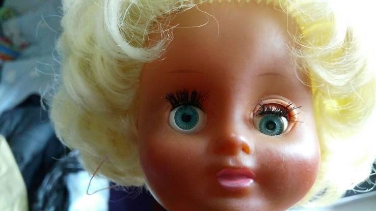 Старинная кукла с клеймом ГДР, фото №8