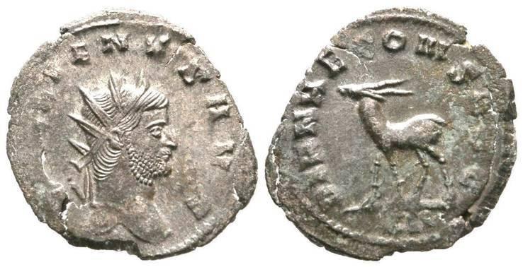 Публий Лициний Эгнаций Галлиен. 253-268 Олень
