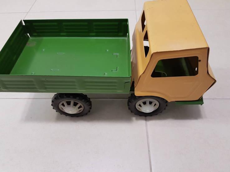 Железный большой автомобиль игрушка СССР, фото №9