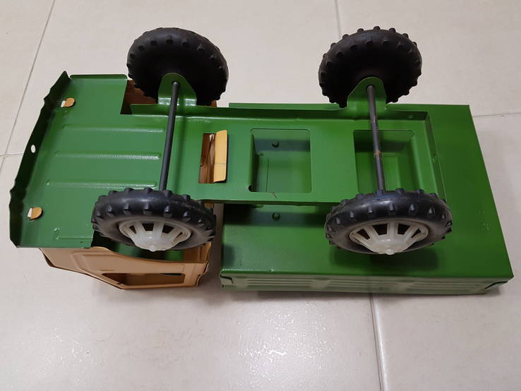Железный большой автомобиль игрушка СССР, фото №10