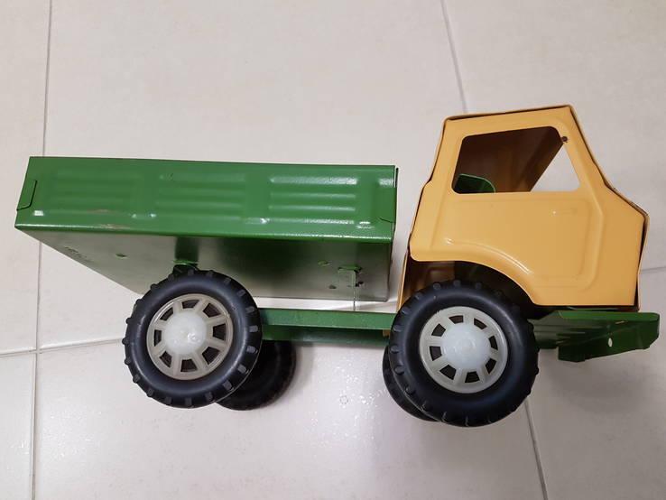 Железный большой автомобиль игрушка СССР, фото №12