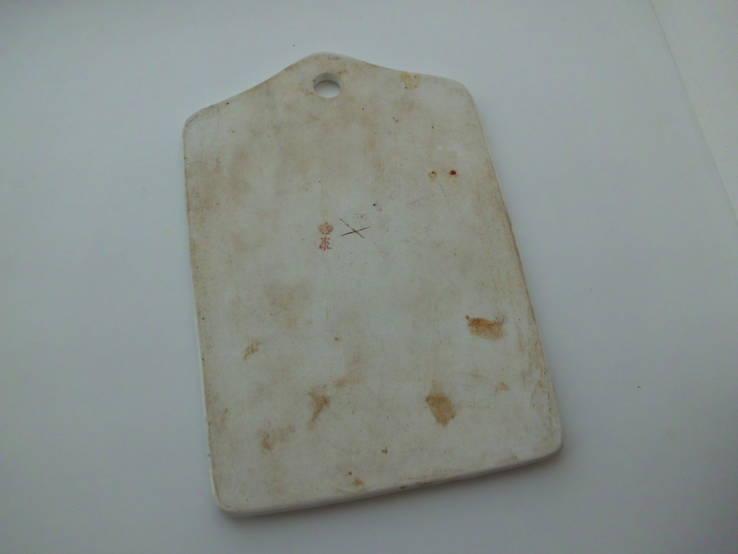 Доска для сыра фарфор клеймо, фото №3