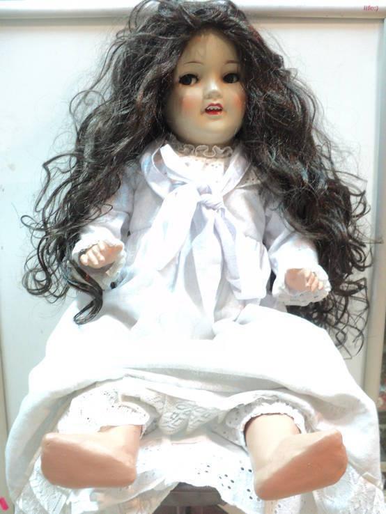 Кукла старая большая