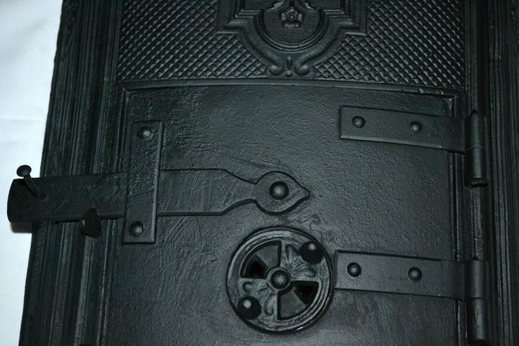 Печной оклад,чугун,литье,Модерн ., фото №5