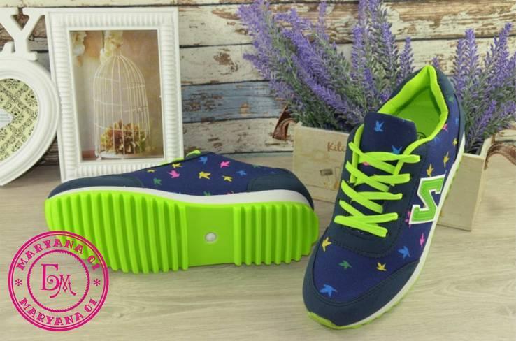 Яркие женские кроссовки размер 41