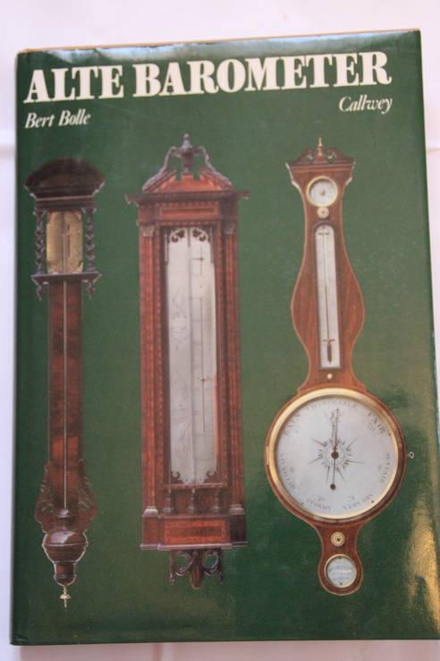 "Книга ""Старый барометр"" Bert Bolle, 1980, фото №2"