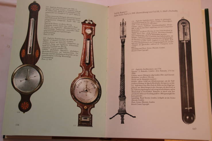 "Книга ""Старый барометр"" Bert Bolle, 1980, фото №9"