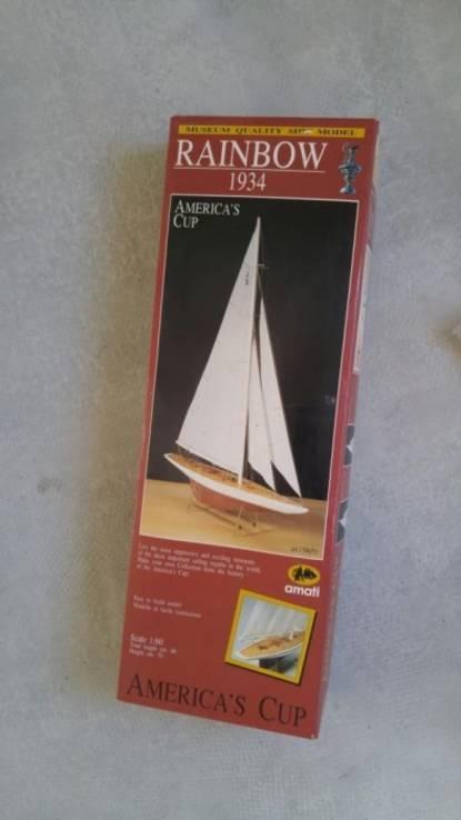 Сборная модель яхты Amati (Rainbow) 1934 г. 1:80